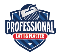 Professional Lath and Plaster Logo
